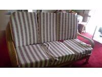 3 seater sofa n 2 chairs