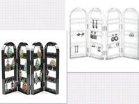 Earring Holder Stand Jewellery Travel Foldable Display Organiser