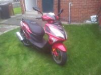 125 cc Lexmoto scooter 2016 plate