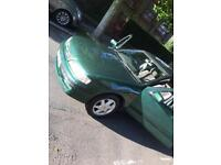 Nissan Primera 1999 Hatchback 1.6 model Green