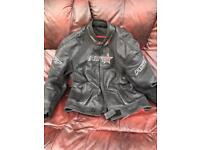 RST Voltage leather motorcycle jacket