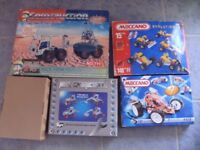 5 Boxes of Metal Meccano