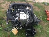 2015 ford 1.0l Eco boost engine complete with gearbox