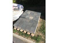 Marshalls Argent Graphite block paving 3m2