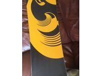 Ride havoc series snow board