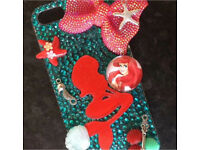Customised Ariel crystal iPhone 5/5s/SE case