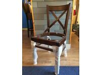 Job lot 108 x NEW restaurant dining chairs. Cross back FRAMES ONLY