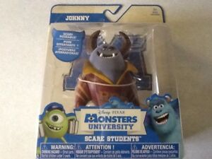 DISNEY PIXAR MONSTERS UNIVERSITY JOHNNY FIGURE