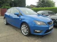 2012 62 Seat Ibiza 2.0 TDi 140 CR FR 3dr Speed Blue