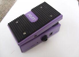 AMT Purple Girl Mini Wah Pedal