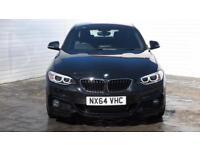 2014 BMW 2 Series 2014 64 BMW 2 Series 2.0 TD 220D M Sport New Model Diesel blac