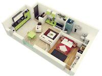 Looking for 1 bedroom/studio flat