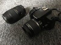 Canon EOS 450D digital camera PLUS Tamron AF70-300mm F/4-5.6 Di lens