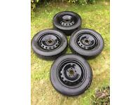Vauxhall vivaro steel wheels and tyres