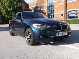 2014 BMW 1 Series 116d Sport Qualifies for Warra Manual Diesel Hatchback
