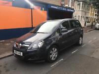 Vauxhall zafira design 1.6 PCO registered