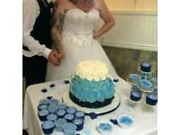 Beautiful wedding dress 14/16