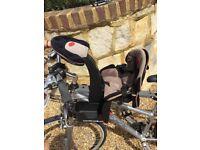 Wee ride deluxe kangaroo front mounted kids bike seat