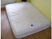 CAN DELIVER - REST ASSURED DOUBLE MATTRESS IN VERY GOOD CONDITION