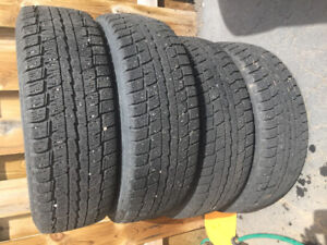 4 sets of winter tire with Rim 4 year old