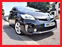 PCO -- 2012 Toyota Prius 1.8 VVT-i Hybrid Auto T4 --UK MODEL -- 83000 Miles --New PCO till June 2018