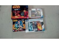 STAR WARS PUZZLES X FOUR BRAND NEW