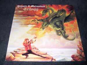 Yngwie Malmsteen - Trilogy (1986) LP vinyl Rock Heavy METAL