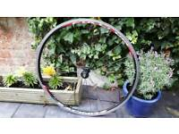 Racing bike front wheel Fulcrum