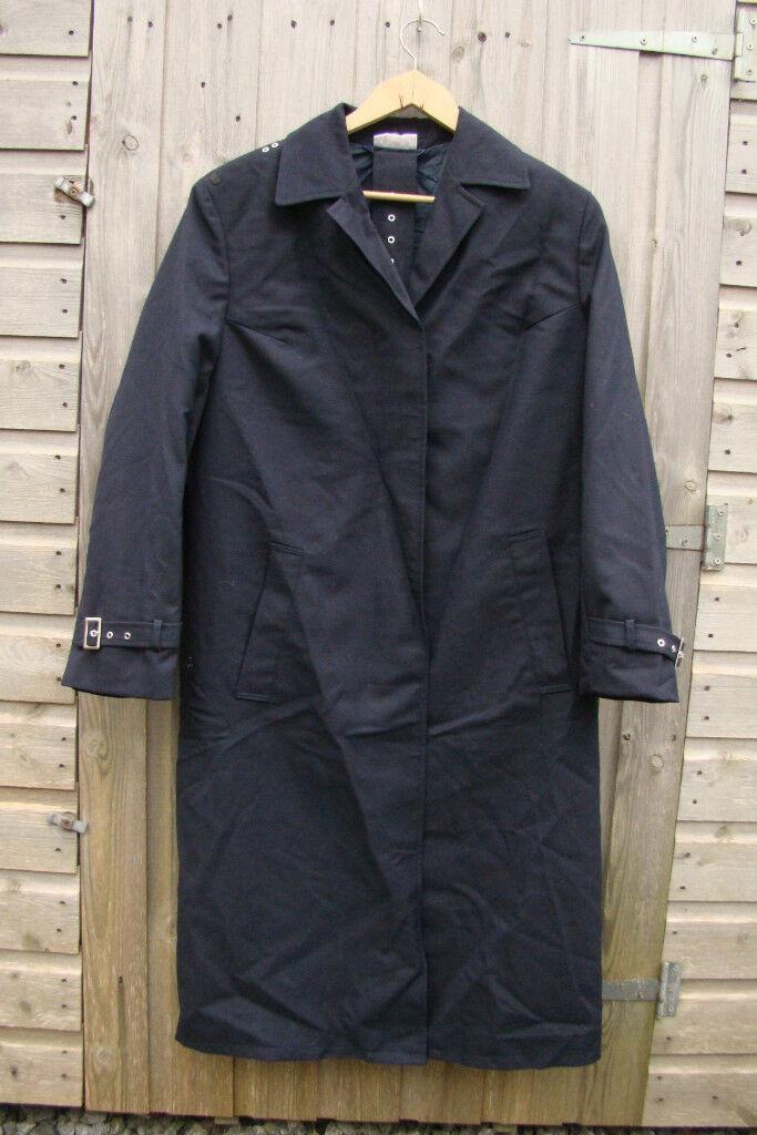 Navy Blue (German Military) Trench coat / Rain coat (new with ...
