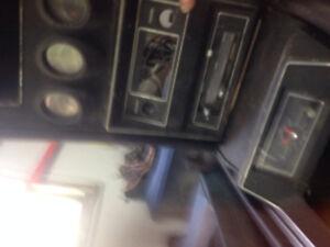 72 Mach 1 tach dash console  sport gauge package