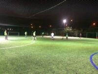 Play Football in Beckton, East London! Friendly 7-aside TODAY available to join. 2-3 players needed!