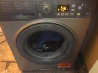 Hotpoint washing machine silver