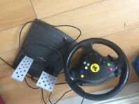 Playstation Wheel and Pedals