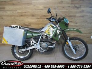 2002 Kawasaki KLR650 33.54$/SEMAINE