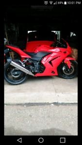 09 Kawasaki Ninja 250R Mint! Low km!