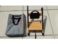 Minui Handysitt and carrying case (Stokke highchair adaptor)