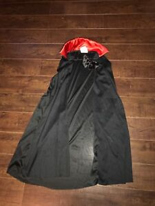 Dracula cape with collar.