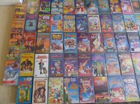 VARIOUS VIDEO TAPES WITH SOME RARE ONES '93 IN TOTAL'