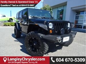 2012 Jeep Wrangler Unlimited Rubicon CUSTOM LIFT, RIMS & STEE...