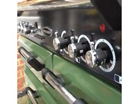 Duel fuel rangemaster cooker 90cm