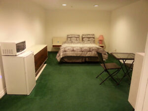 Furnished Basement Studio on Steeles & Kennedy- Avail Aug 1st.