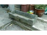 Stone planter/ trough