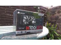 *Corsair H100i GTX 240mm AIO Liquid Cooler SEALED BRAND NEW*