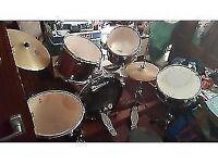premier olympic pro drum set