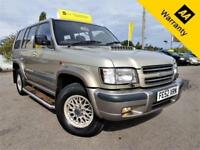 2002 ISUZU TROOPER 3.0 LWB DT CITATION 5D 157 BHP! P/X WELCOME! 2 OWNRS+FSH+BELT
