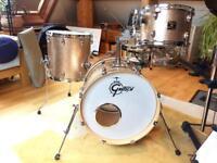Gretsch Catalina Club Jazz Drum Kit + Cases