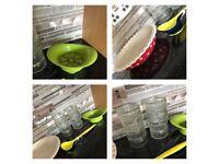 Kitchen bundle - car boot NEW - pie dish, ramekins, salad spoons, apple cutter
