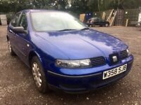 W REG - Seat Leon 1.4 - Needs work.