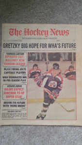 The Hockey News Oct 27 1978 Edition Signed by Jean Beliveau