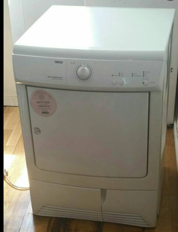 condenser dryerin Liverpool, MerseysideGumtree - White condenser dryer, Good condition and good working order. Zanussi 7kg. Pick up Walton or can deliver Contact me on 07858044203 £100